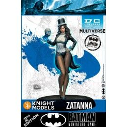 BATMAN MINIATURE GAME - ZATANNA MINI RESIN STATUE FIGURE KNIGHT MODELS