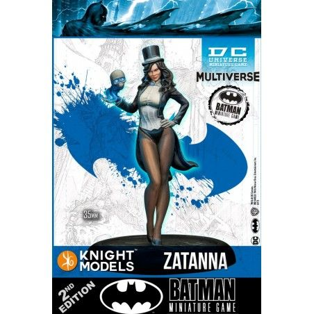 BATMAN MINIATURE GAME - ZATANNA MINI RESIN STATUE FIGURE