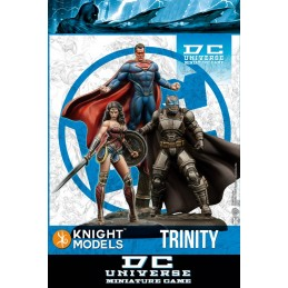 BATMAN MINIATURE GAME - BATMAN V SUPERMAN TRINITY MINI RESIN STATUE FIGURE KNIGHT MODELS