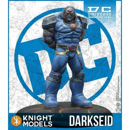 DC UNIVERSE MINIATURE GAME - DARKSEID MINI RESIN STATUE FIGURE