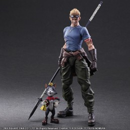 FINAL FANTASY 7 AC - CID AND CAIT PLAY ARTS KAI ACTION FIGURE