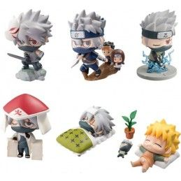 NARUTO PETIT CHARA KAKASHI SPEC SET MINI FIGURE