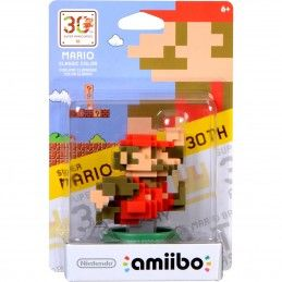 NINTENDO WII U WIIU AMIIBO SUPER MARIO CLASSIC COLOURS 30TH ANNIVERS