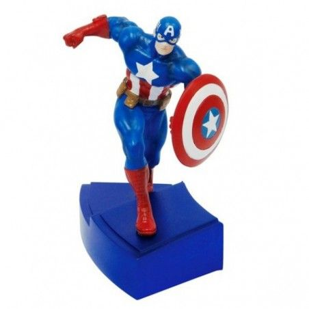 MARVEL CAPTAIN AMERICA AVENGERS PAPERWEIGHT FERMACARTE STATUE FIGURE