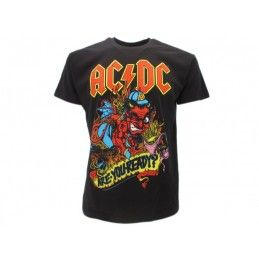 MAGLIA T SHIRT AC DC ARE YOU READY