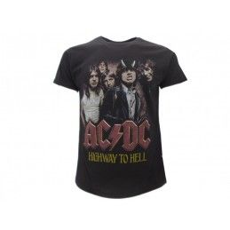 MAGLIA T SHIRT AC DC HIGHWAY TO HELL