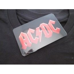 MAGLIA T SHIRT AC DC ROCK OR BUST