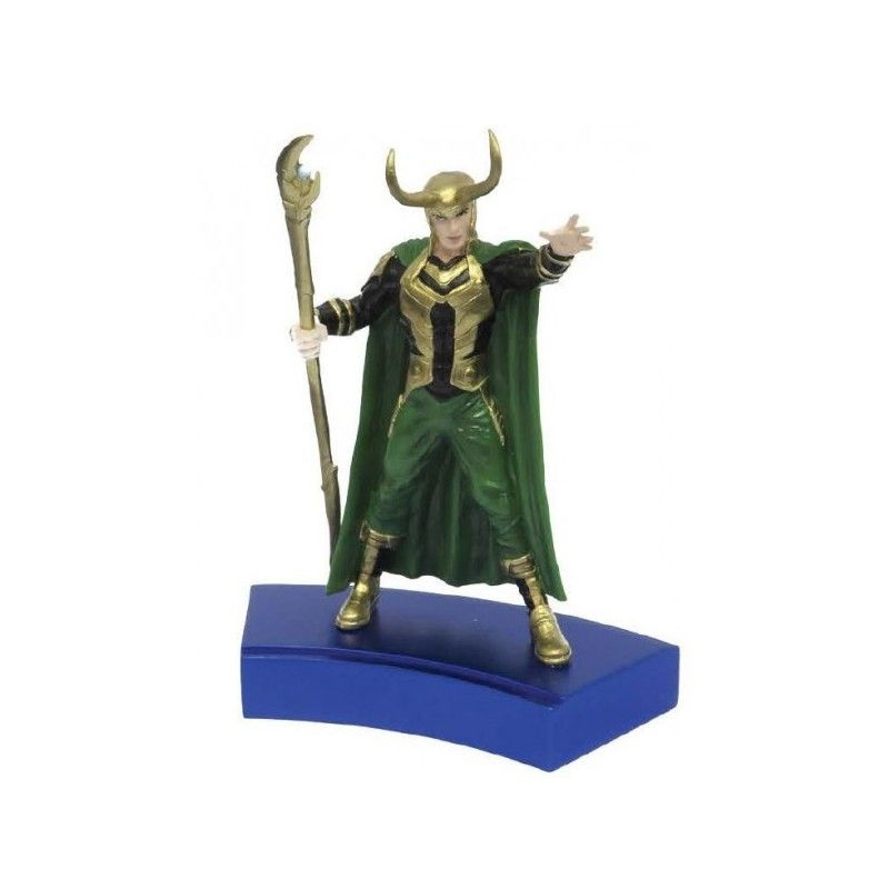 MARVEL LOKI AVENGERS PAPERWEIGHT FERMACARTE STATUE FIGURE