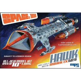SPACE SPAZIO 1999 - HAWK MARK IX DELUXE MODEL KIT FIGURE SCALA 1/72 MPC