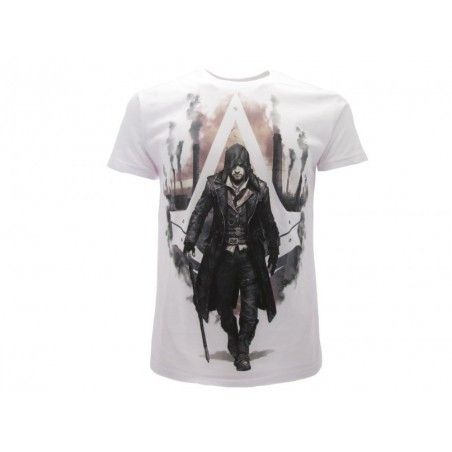 MAGLIA T SHIRT ASSASSIN'S CREED SYNDACATE BIANCA