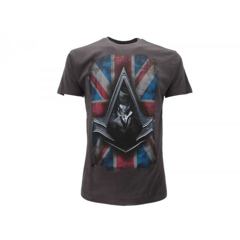 MAGLIA T SHIRT ASSASSIN'S CREED SYNDACATE GRIGIA