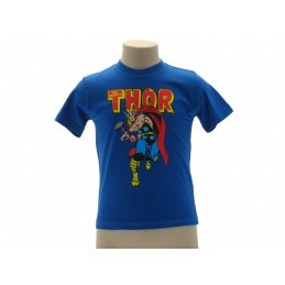 MAGLIA T SHIRT THOR MIGHTY MARVEL AVENGERS BLU