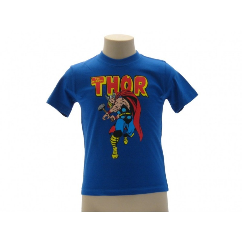 MAGLIA T SHIRT THOR MIGHTY MARVEL AVENGERS VERDE