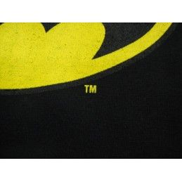 MAGLIA T SHIRT BATMAN LOGO NERA