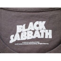 MAGLIA T SHIRT BLACK SABBATH GROUP NERA