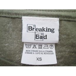 MAGLIA T SHIRT BREAKING BAD COLLAGE VERDE