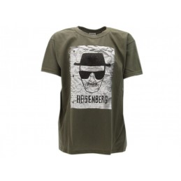 MAGLIA T SHIRT BREAKING BAD HEISENBERG VERDE