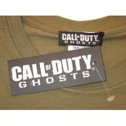 MAGLIA T SHIRT CALL OF DUTY GHOSTS NERA
