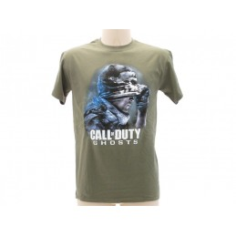 MAGLIA T SHIRT CALL OF DUTY GHOSTS VERDE