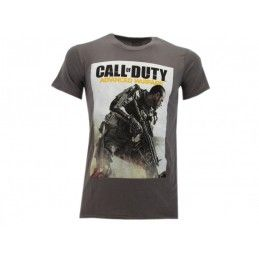 MAGLIA T SHIRT CALL OF DUTY ADVANCED WARFARE GRIGIA