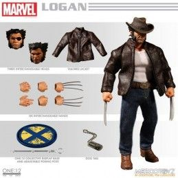 MARVEL WOLVERINE LOGAN CLOTH ACTION FIGURE
