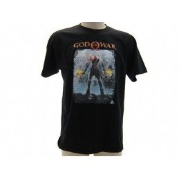 MAGLIA T SHIRT GOD OF WAR SONY PLAYSTATION NERA
