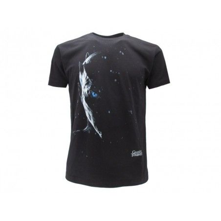 MAGLIA T SHIRT GAME OF THRONES WHITE WALKER NERA