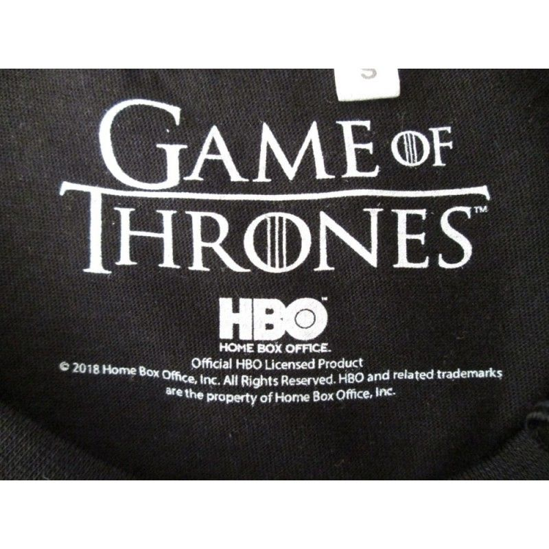 MAGLIA T SHIRT GAME OF THRONES WINTER IS COMING STARK NERA