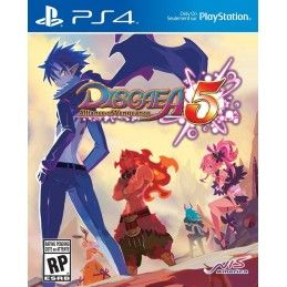 DISGAEA 5 ALLIANCE OF VENGEANCE PS4 PLAYSTATION 4 USATO GARANTITO