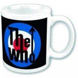 THE WHO LOGO CERAMIC MUG TAZZA
