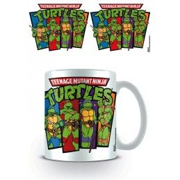 NINJA TURTLES CERAMIC MUG TAZZA