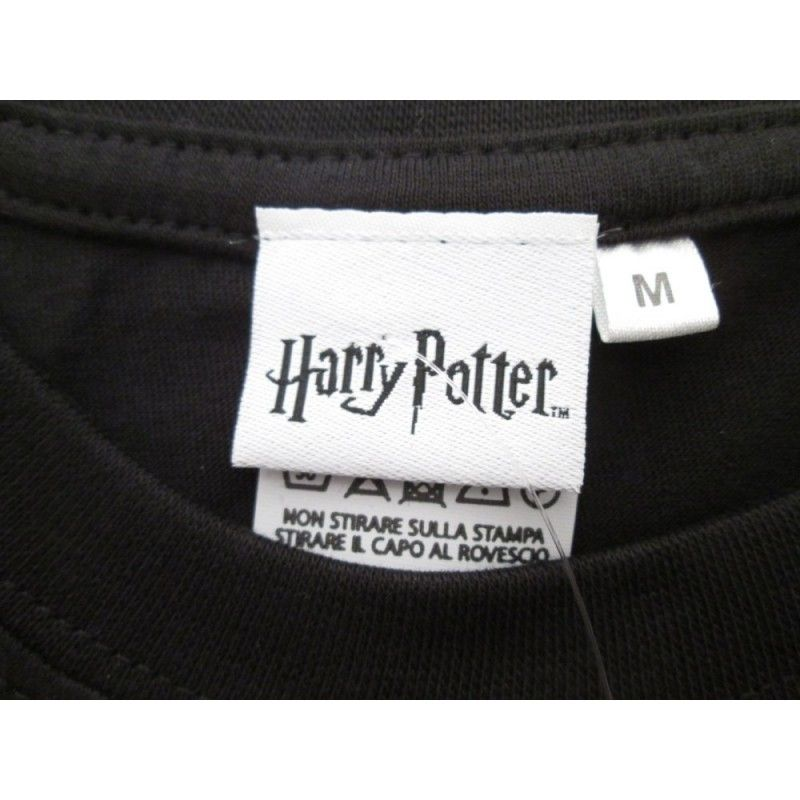 MAGLIA T SHIRT HARRY POTTER SLYTHERN SERPEVERDE NERA