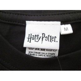 MAGLIA T SHIRT HARRY POTTER GRYFFINDOR GRIFONDORO NERA