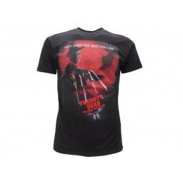 MAGLIA T SHIRT A NIGHTMARE ON ELM STREET FREDDY'S DEATH NERA
