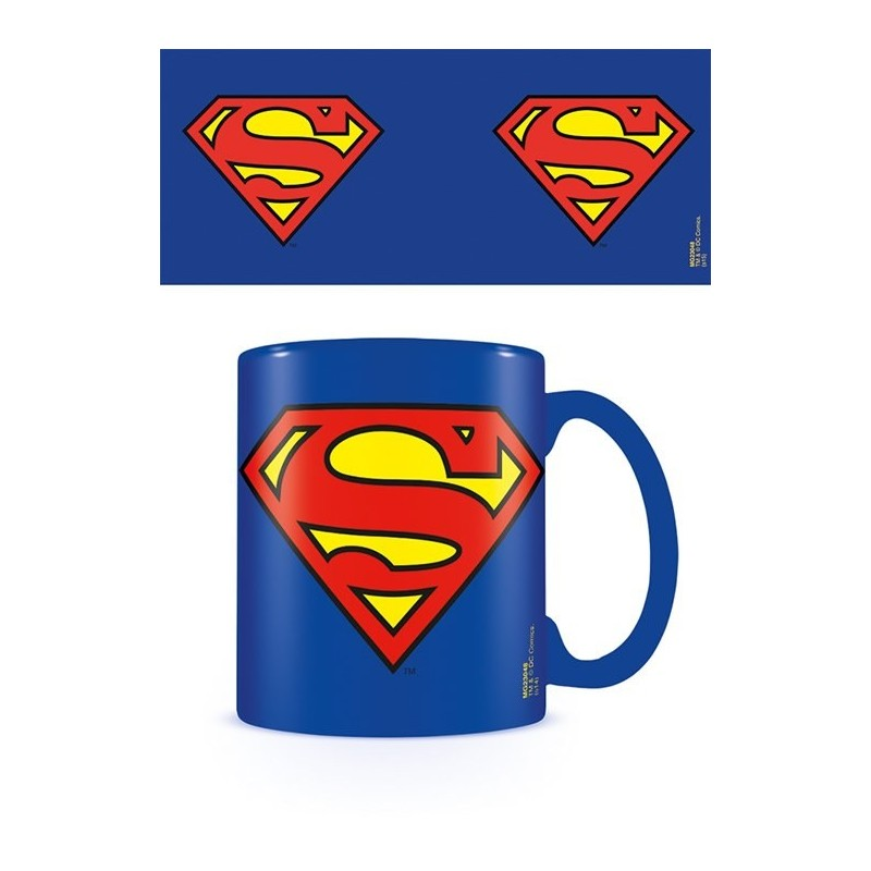 SUPERMAN LOGO MUG TAZZA