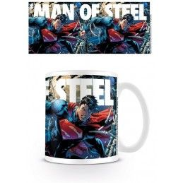 SUPERMAN THE MAN OF STEEL MUG TAZZA