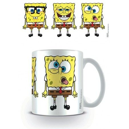 SPONGEBOB FACES MUG TAZZA CERAMICA