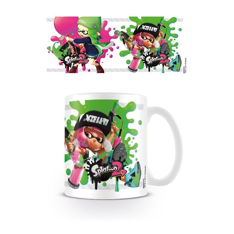 SPLATOON 2 MUG TAZZA CERAMICA