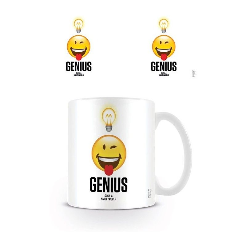 SMILEY WORLD GENIUS MUG TAZZA CERAMICA