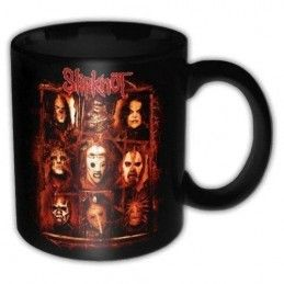 SLIPKNOT MASKS MUG TAZZA CERAMICA
