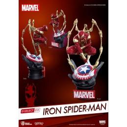 IRON SPIDER-MAN D-SELECT 16CM STATUE FIGURE