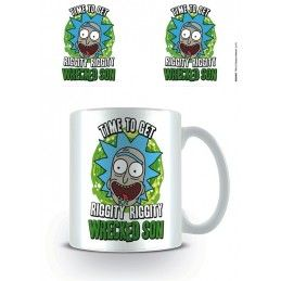 RICK AND MORTY WRECKED SON MUG TAZZA CERAMICA
