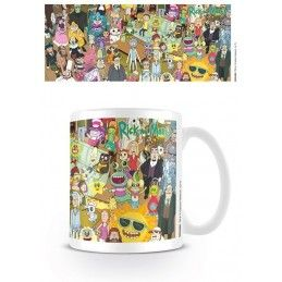 RICK AND MORTY CAST MUG TAZZA CERAMICA