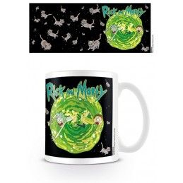 RICK AND MORTY PORTAL MUG TAZZA CERAMICA