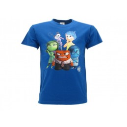 MAGLIA T SHIRT DISNEY INSIDE OUT BLU ROYAL