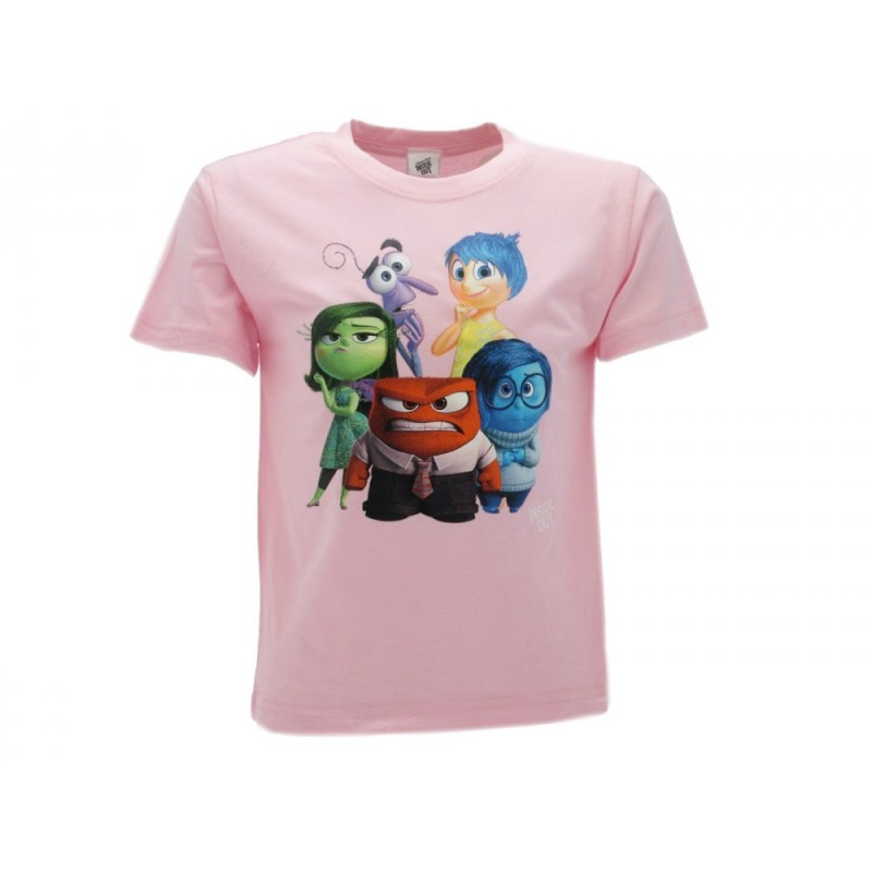 MAGLIA T SHIRT DISNEY INSIDE OUT ROSA
