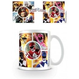 POWER RANGERS MUG TAZZA CERAMICA