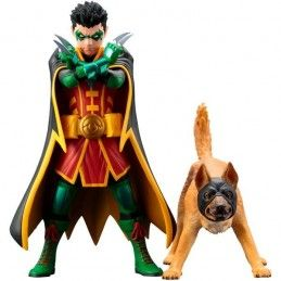 KOTOBUKIYA DC COMICS BATMAN - ROBIN AND BAT-HOUND ARTFX+ STATUE FIGURE