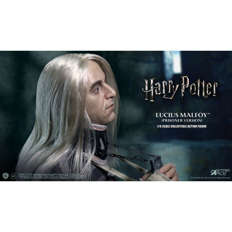 MOLECULE8 HARRY POTTER - LUCIUS MALFOY PRISONER 1/6 SCALE 30CM ACTION FIGURE