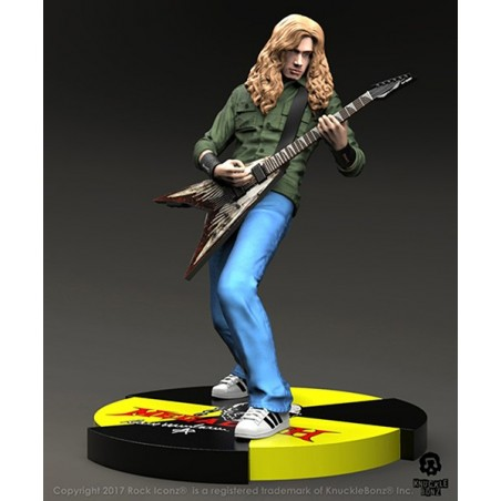 ROCK ICONZ - MEGADETH DAVE MUSTAINE 20CM STATUE FIGURE